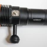 Acebeam D45 — обзор подводного фонаря с теплым светом для дайвинга и охоты