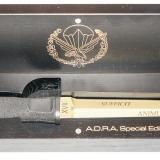 Extrema Ratio ADRA Operativo Gold Limited (EX/313ADRASPRIAMGOLDR) — озор кинжала ограниченной серии