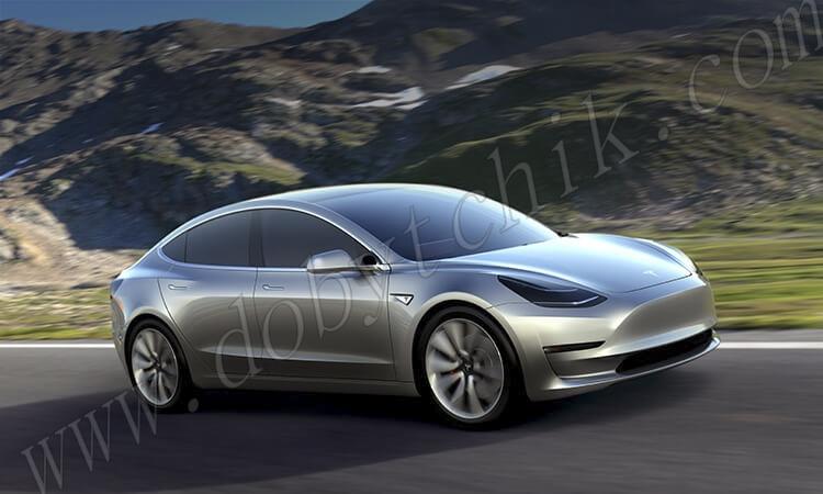 Аккумуляторы 21700 используются в электромобиле Tesla
