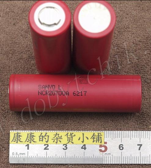 Литиевый аккумулятор Sanyo NCR20700A