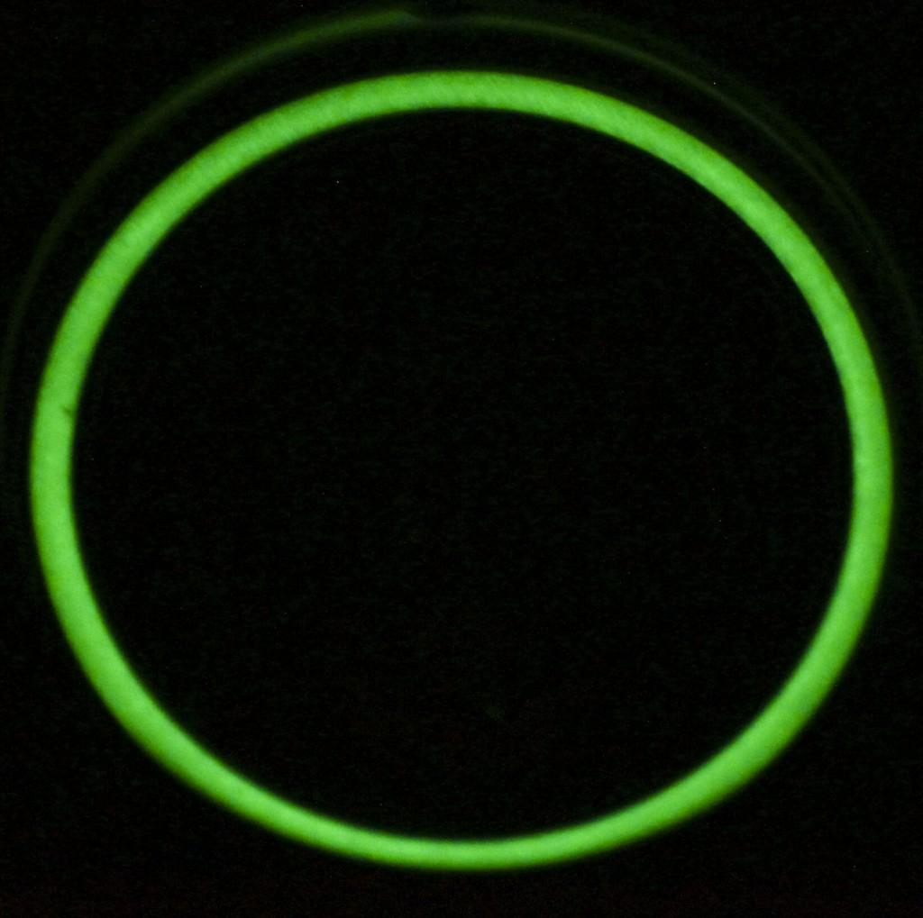 Светящееся в темноте уплотнительное кольцо фонаря для дайвинга Acebeam D400