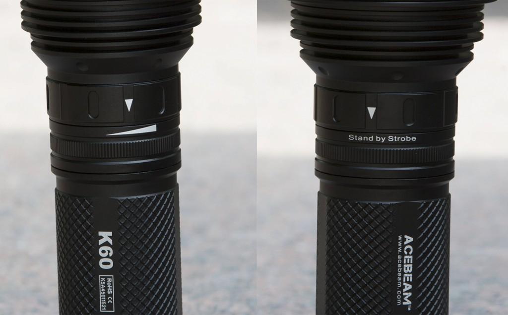 Магнитное кольцо для выбора режимов яркости и управления фонарем Acebeam K60