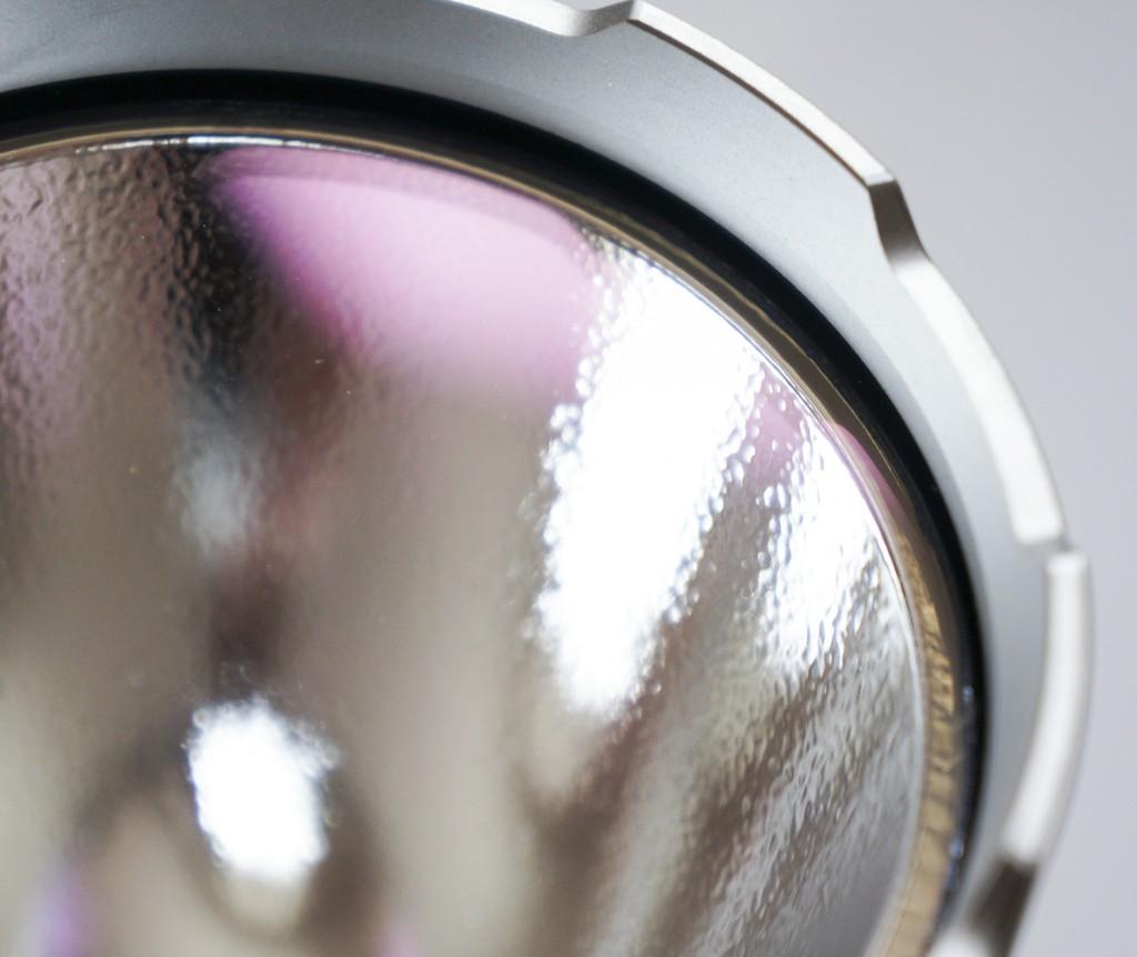 Защитная ударная кромка из стали фонаря Acebeam K60