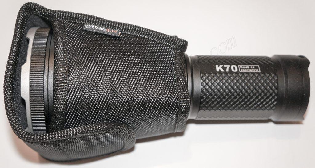 Чехол из нейлона для ношения фонаря Acebeam K70
