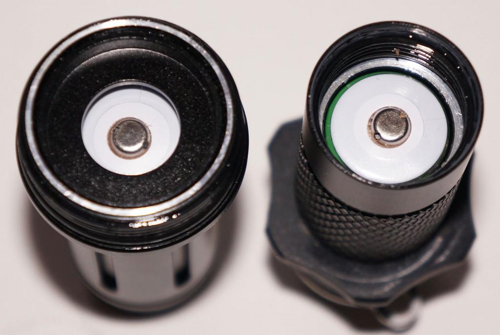 Качественный алюминиевый корпус дальнобойного фонаря Acebeam T20