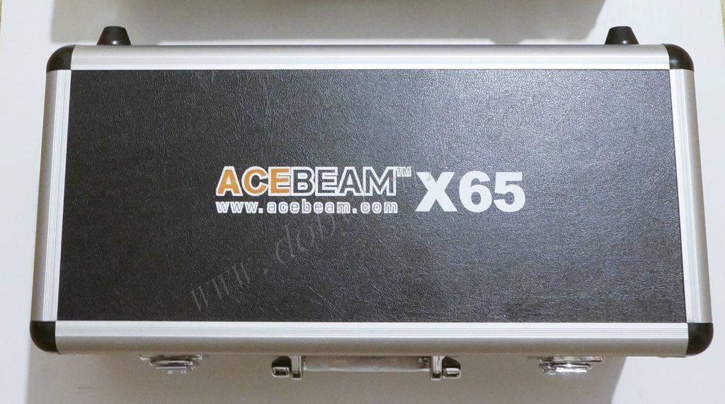 Алюминиевый кейс для хранения и транспортировки мощного фонаря Acebeam X65