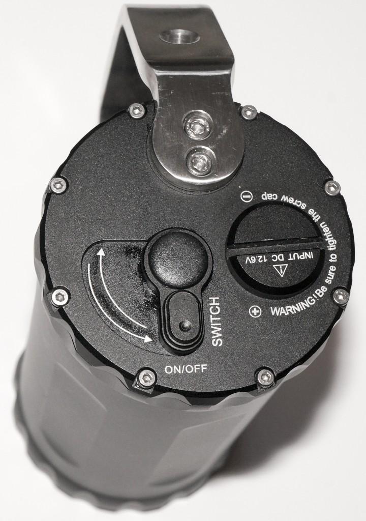 Торцевая часть с механизмом управления фонаря Ferei W163B