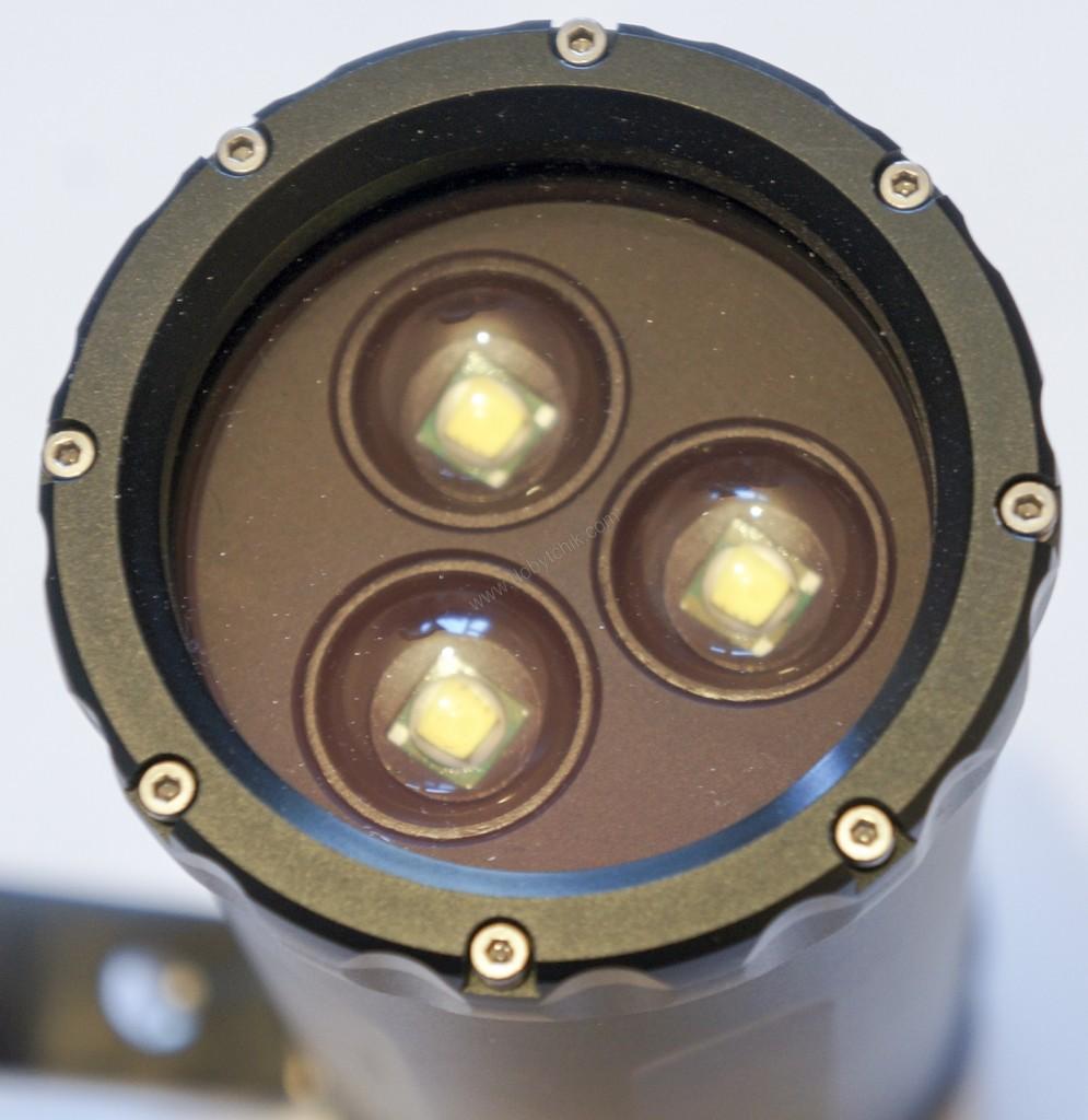 Светодиоды используемые в подводном фонаре Ferei W163B