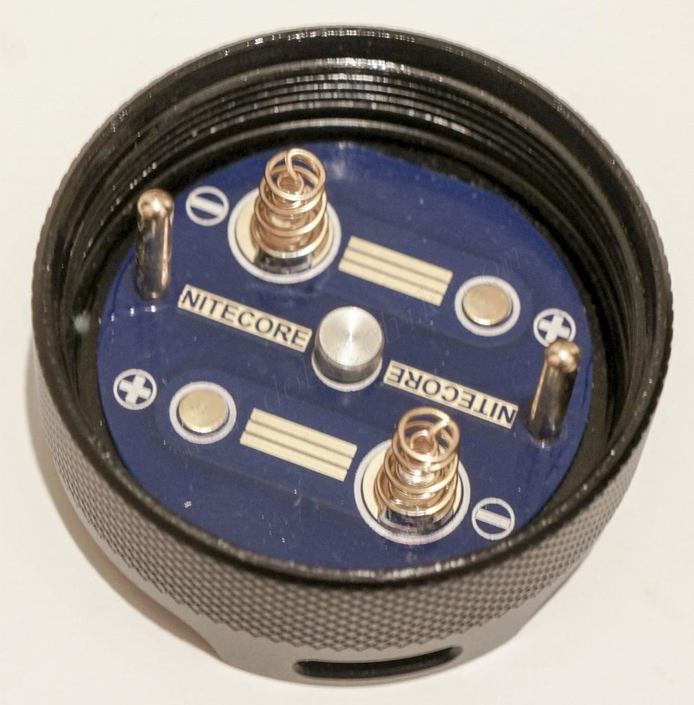 Торцевая крышка фонаря Nitecore TM16GT