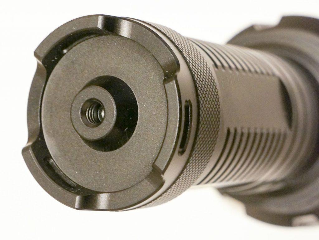 Торцевая часть корпуса поискового фонаря Отражатель фонаря Acebeam K60