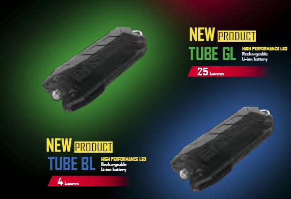 Новые версии наключного фонаря Nitecore Tube