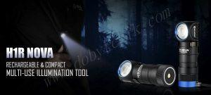 Новый налобный фонарь Olight H1R Nova