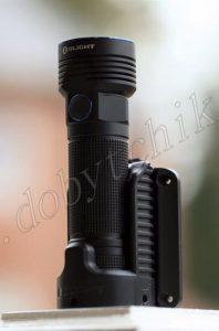 Перезаряжаемый поисковый фонарь Olight R50 Pro на док-станции