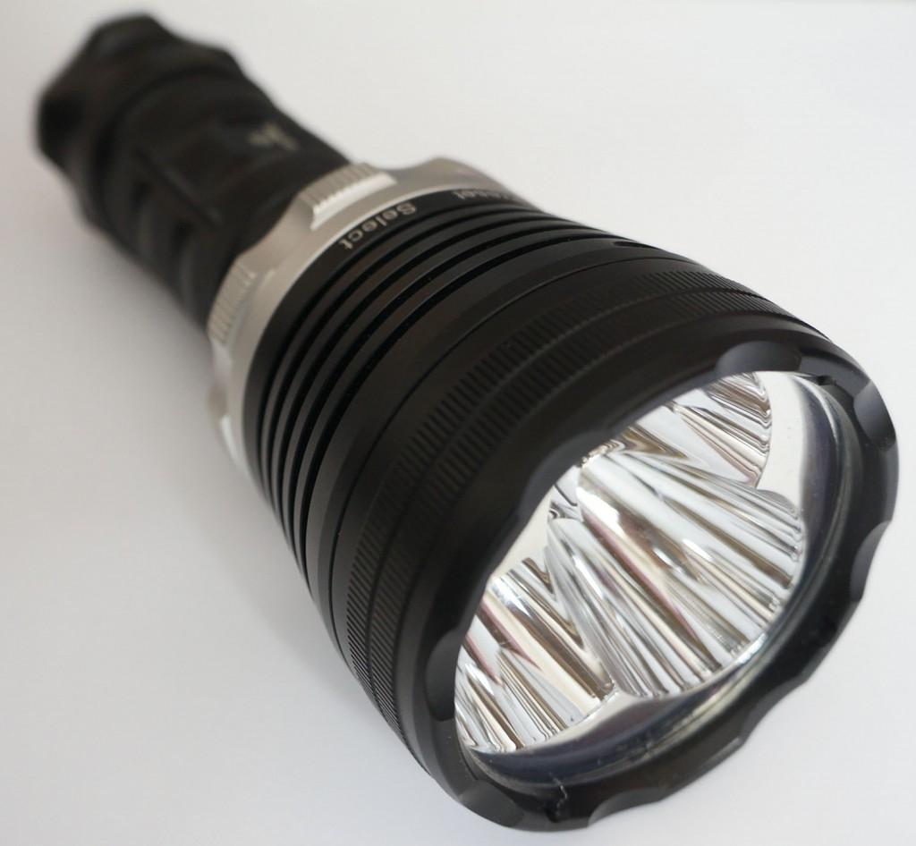 Крупная головная часть фонаря для дайвинга Xtar D35
