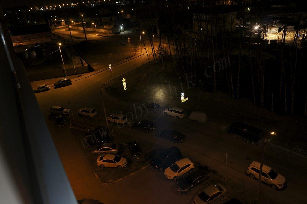 Тест света дальнобойного фонаря Armytek Barracuda на 80 метров