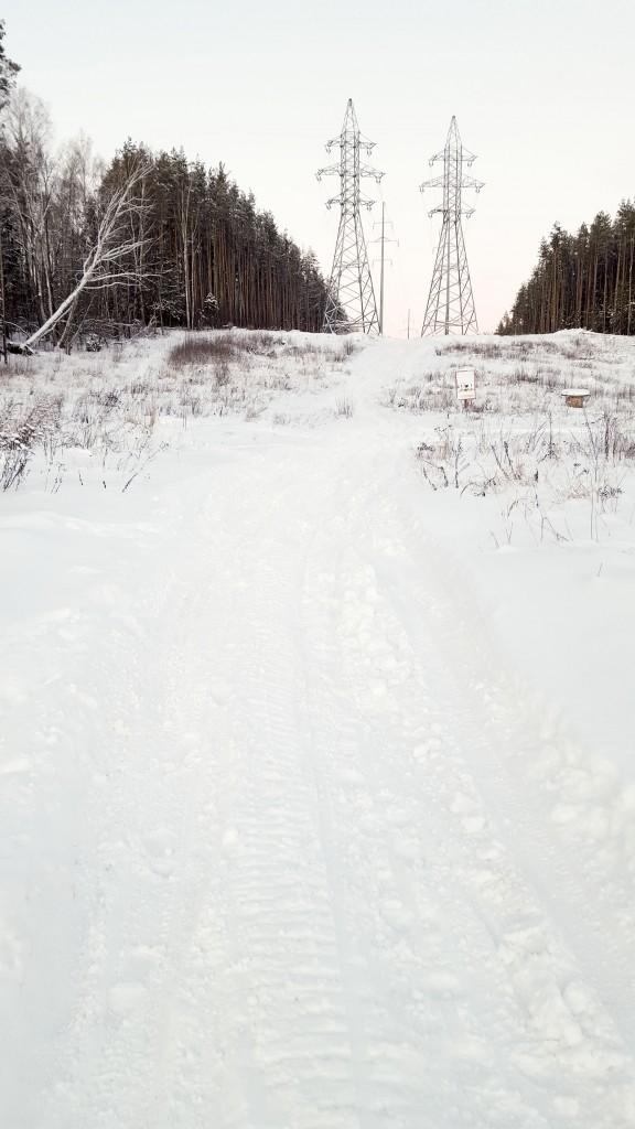 Максимально высокая горка для спуска на беговых лыжах без падений