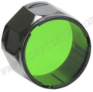 Зеленый фильтр для светодиодного фонаря