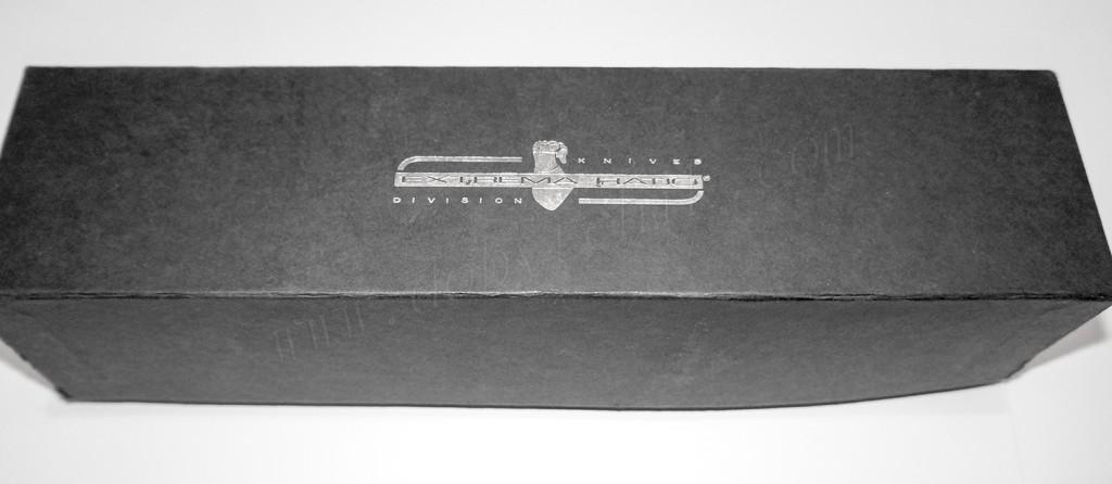 Картонная упаковка ножа спецназа ограниченной серии Extrema Ratio ADRA Operativo Gold Limited