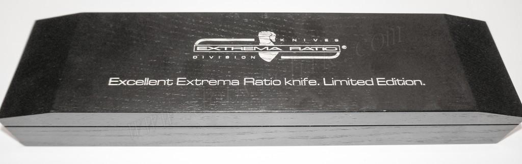 Качественная подарочная шкатулка из дерева для кинжала Extrema Ratio ADRA Operativo Gold Limited