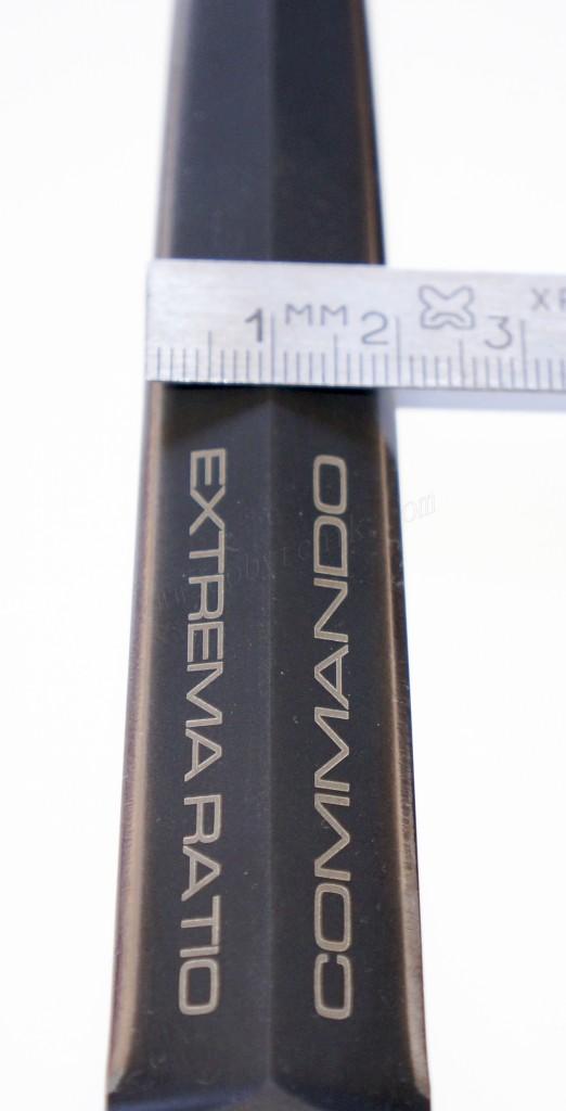 Ширина клинка ножа британского спецназа Extrema Ratio E.R. Commando